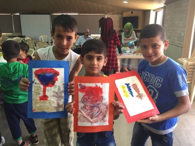 Activités au camp d'enfants