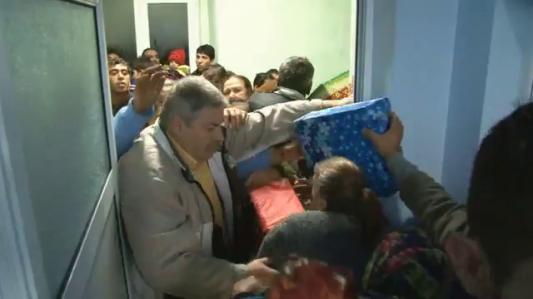 La distribution des paquets de Noël en Moldavie, Bulgarie, Montenegro et Serbie